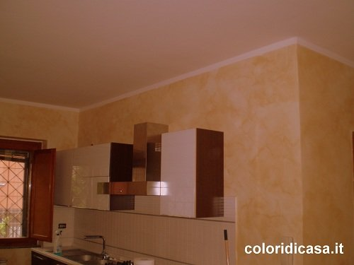 Foto pitture decorative imbianchino roma pittura casa - Pitture decorative per pareti ...