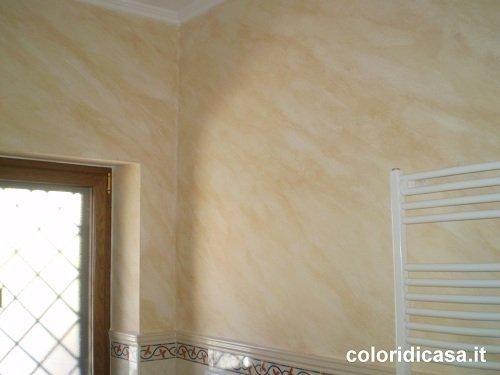 Foto pitture decorative imbianchino roma pittura casa for Pittura sabbiata pareti