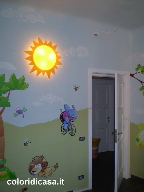 Camerette e colori foto pareti camerette - Colori muri camerette ...