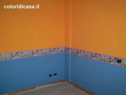 camerette e colori foto pareti camerette