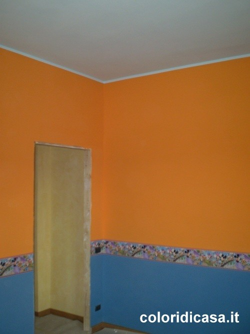 Camerette e colori foto pareti camerette for Colori pareti camerette ragazzi