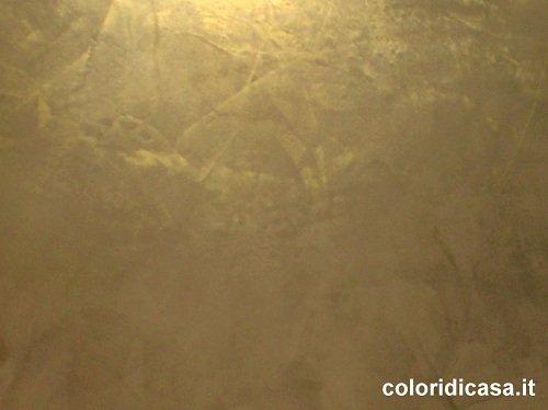 Pittura spatolato oro colori per dipingere sulla pelle for Stucco veneziano argento