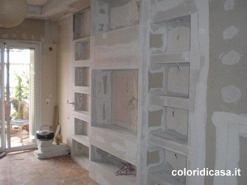 Foto lavori in cartongesso - Lavori di cartongesso in cucina ...